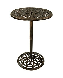Bar Height Patio Table Outdoor Round High Top Pub Table