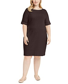 Plus Size Shift Dress, Created for Macy's