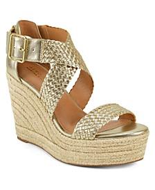 Martha Stewart Kathy Wedge Sandals