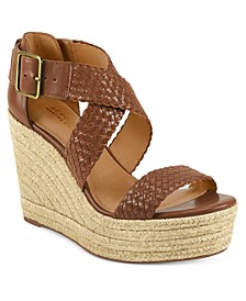 Martha Stewart Kathy Wedge Sandals