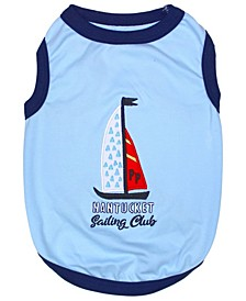 Sailing Club Dog T-shirt