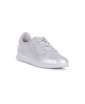 Resilient Lace Up Sneaker with Metallic Detail Women's Shoes