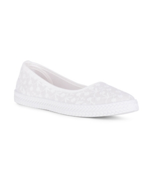 Precious Slip On Embroidered Flat Women's Shoes