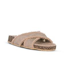 TRANQUIL Slip On Criss Cross Sandal