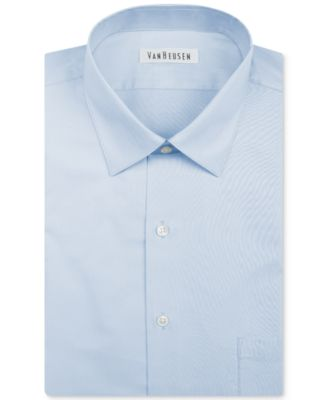Image of Van Heusen Men's Classic-Fit Herringbone Dress Shirt