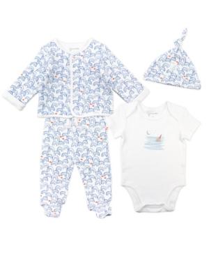 Mac & Moon Baby Boy 4-Piece Set