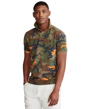 Polo Ralph Lauren Men's Big & Tall Classic-Fit Camo Polo Shirt