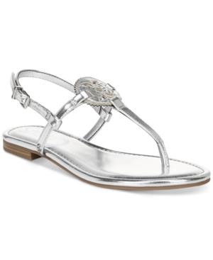 Women's Caya Medallion Flat Sandals Women's Shoes
