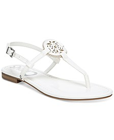 Women's Caya Medallion Flat Sandals