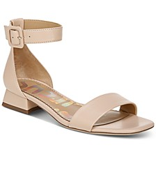 Jade Two-Piece Block-Heel Sandals
