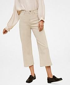 Jeans Culotte High Waist