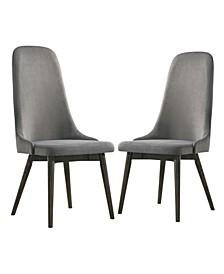 Savuto Upholstered Side Chairs, Set of 2