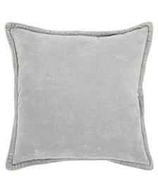 "Solid Polyester Filled Decorative Pillow, 20"" x 20"""