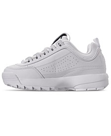 Big Kids Disruptor II Premium  Casual Athletic Sneakers from Finish Line