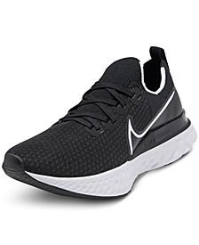 Men's React Infinity Run Flyknit Running Sneakers from Finish Line