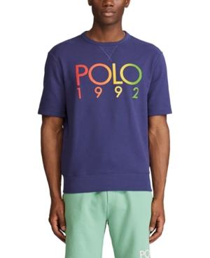Polo Ralph Lauren Men's Big & Tall Logo Short-Sleeve Sweatshirt