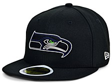 Little Boys Seattle Seahawks Draft 59FIFTY Fitted Cap