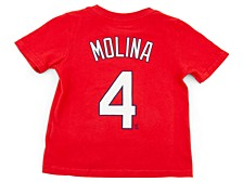 St. Louis Cardinals Kids Yadier Molina Name and Number Player T-Shirt