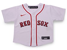 Boston Red Sox Toddler Official Blank Jersey