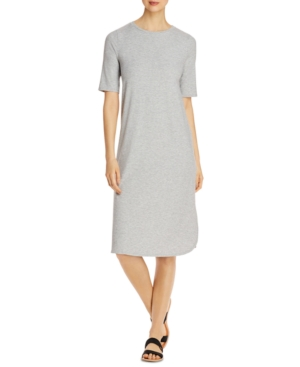 Eileen Fisher ELBOW-SLEEVE DRESS