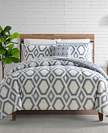 Erin 12-Piece Reversible Comforter Set