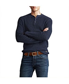 폴로 랄프로렌 Polo Ralph Lauren Mens Henley Sweater,Navy