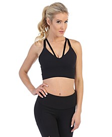 Medium Support Strappy Back Sports Bra