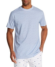 Men's Slim-Fit Reef Crewneck Short Sleeve T-shirt