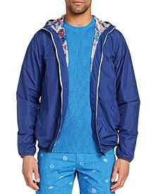 Men's Slim-Fit Water Repellent Stormy Night Windbreaker Jacket