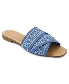 Kana Logo Slide Sandals