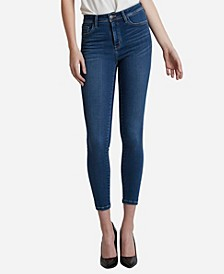 High Rise Super Soft Skinny Crop Jeans