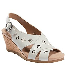 Women's Attalea Bahama Sling Back Wedge