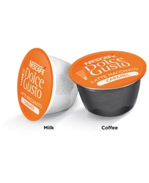 SnackBoxPros Nescafe Dolce Gusto Coffee Latte Macchiato Caramel Capsules