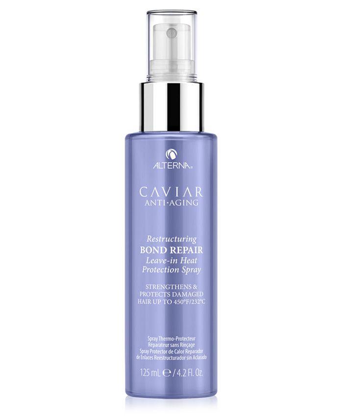 Alterna - Caviar Anti-Aging Restructuring Bond Repair Leave-In Heat Protection Spray, 4.2-oz.