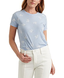 Cotton Floral-Print T-Shirt