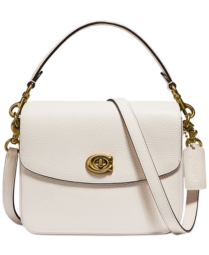 COACH - Polished Pebbled Leather Cassie Crossbody 19