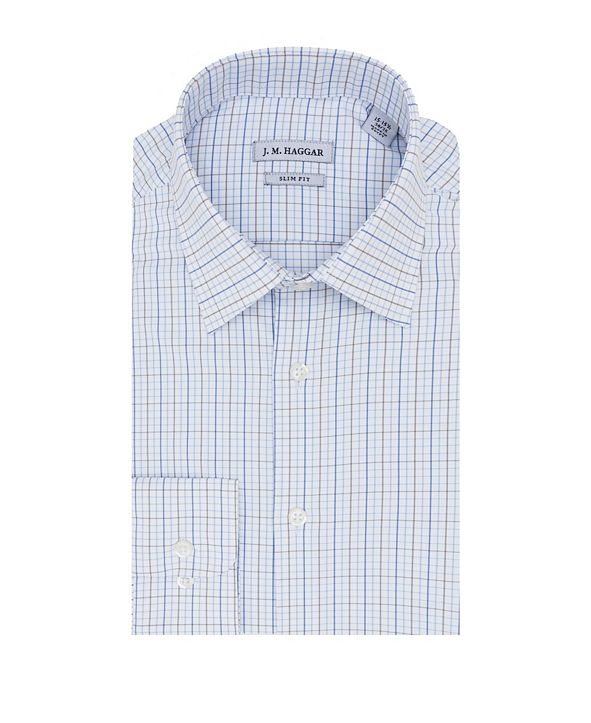 Haggar Premium Performance Slim Fit Dress Shirt