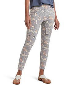 Utopia by Denim Tropical Print Capri Leggings, Online Only