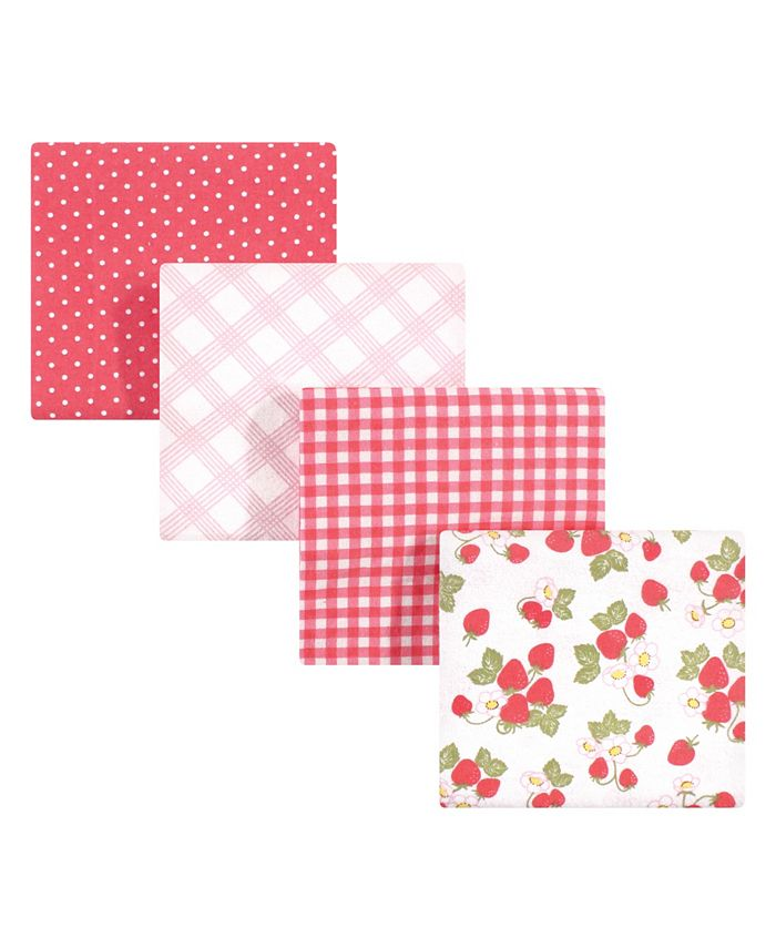 Hudson Baby - - Baby Boys and Girls Cotton Flannel Receiving Blankets Set