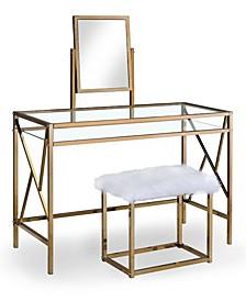 Ian Contemporary Vanity Set