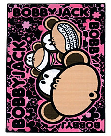"Fun Rugs Bobby Jack Bobby Faces 19"" x 29"" Area Rug"