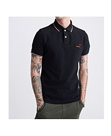 Men's Poolside Pique Polo Shirt
