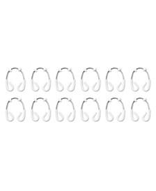 Set of 12 Flex Double Shower Rings