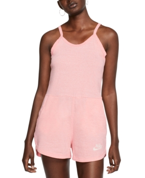 1980s Clothing, Fashion | 80s Style Clothes Nike Womens Gym Vintage Romper $55.00 AT vintagedancer.com