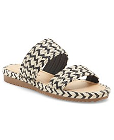 Women's Decime Woven Slide Sandals