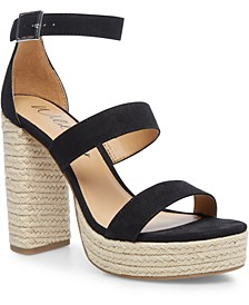 Yamina Platform Dress Sandals, Created for Macy's