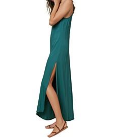Juniors' Koko Side-Slit Maxi Dress