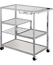 Kendra Metal Mobile Serving Cart