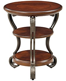 Azea Scrolled Leg Side Table
