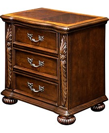 Perrena 3-drawer Nightstand